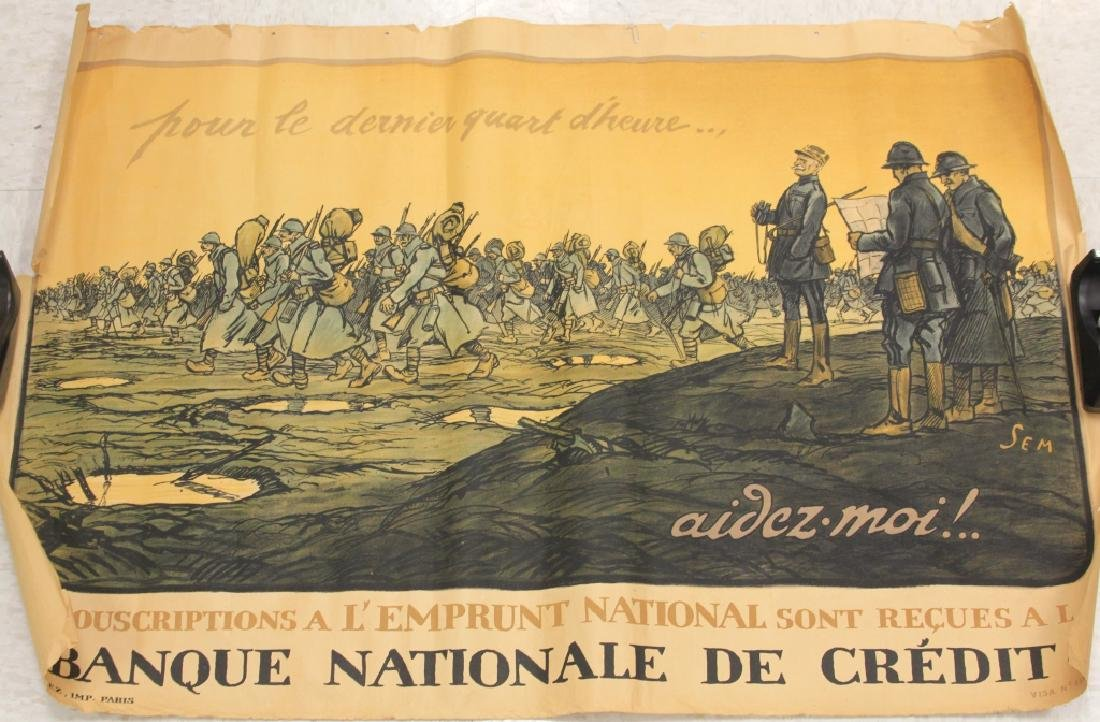 FRENCH WWI POSTER