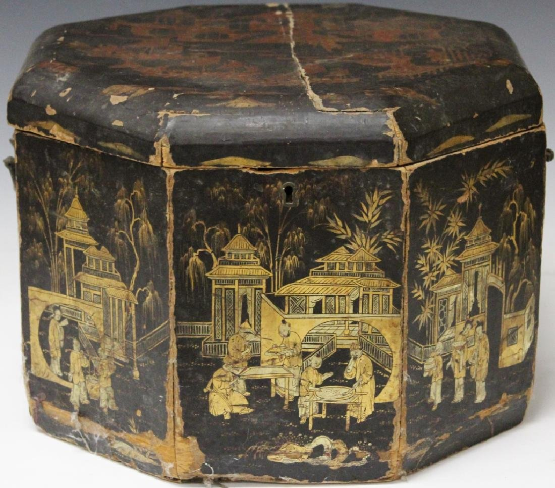 18TH/19TH CENTURY CHINESE LACQUERED BOX
