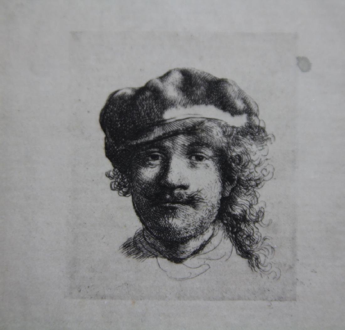 EARLY REMBRANDT ETCHING, 19TH CENTURY