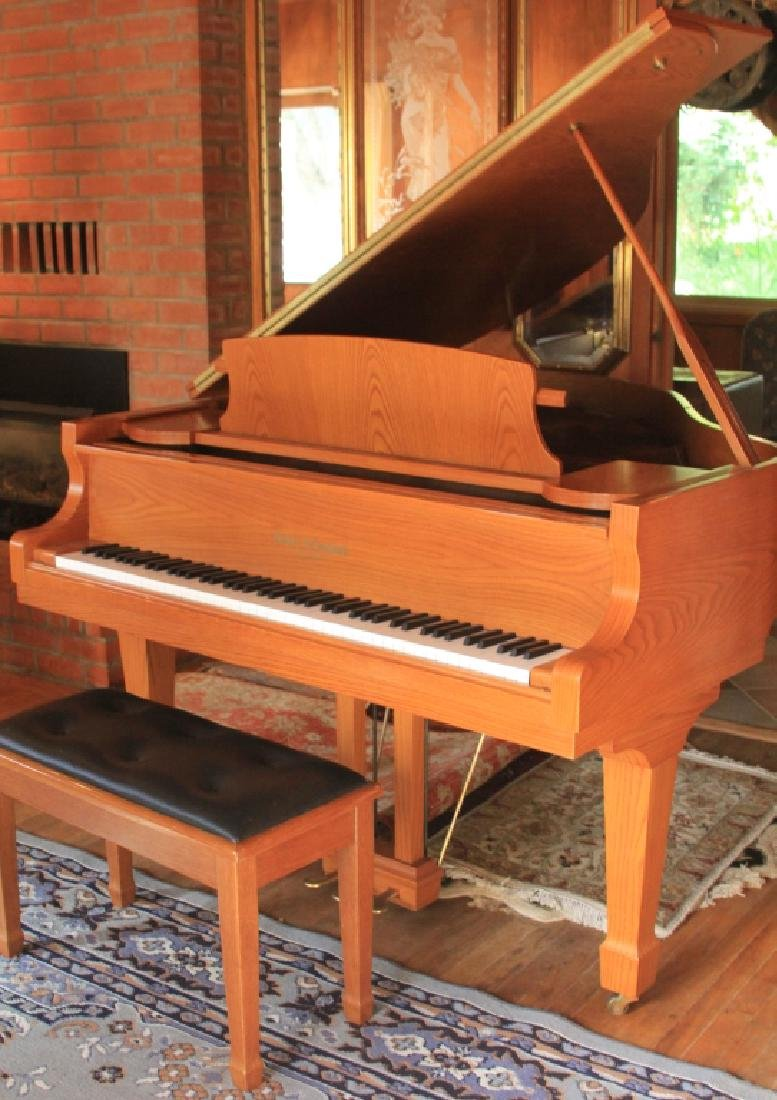 KOHLER & CAMPBELL BABY GRAND PIANO W/ BENCH
