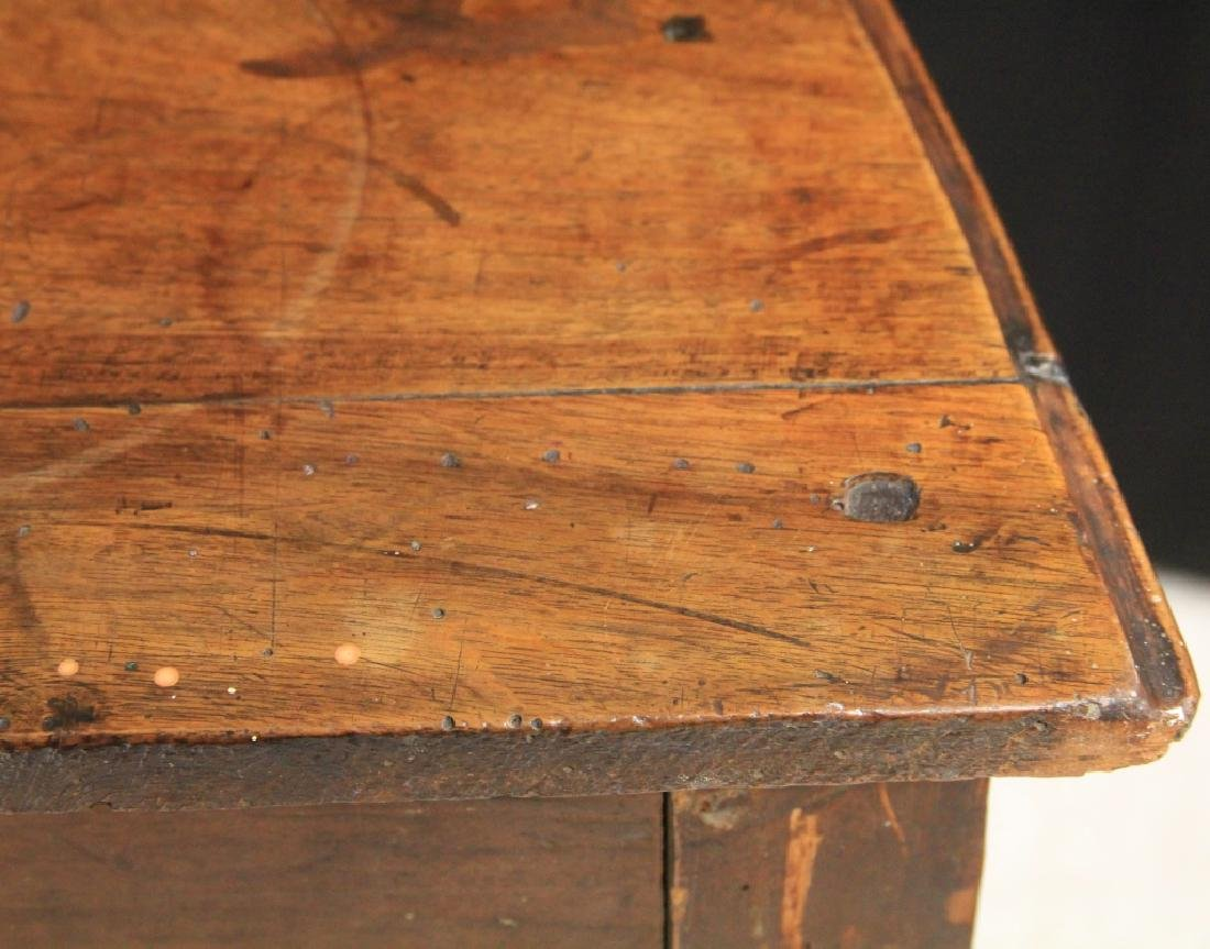FRENCH 18TH C. CARVED WALNUT COMMODE - 6