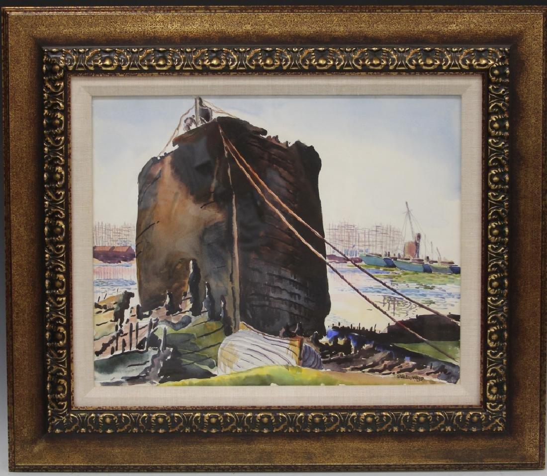 STANLEY WOOD (1894-1949), WATERCOLOR
