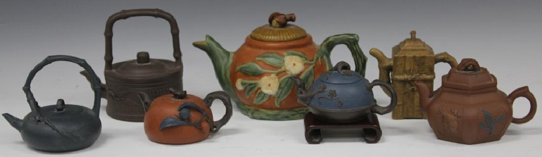 LOT OF (7) VINTAGE CHINESE TEAPOTS