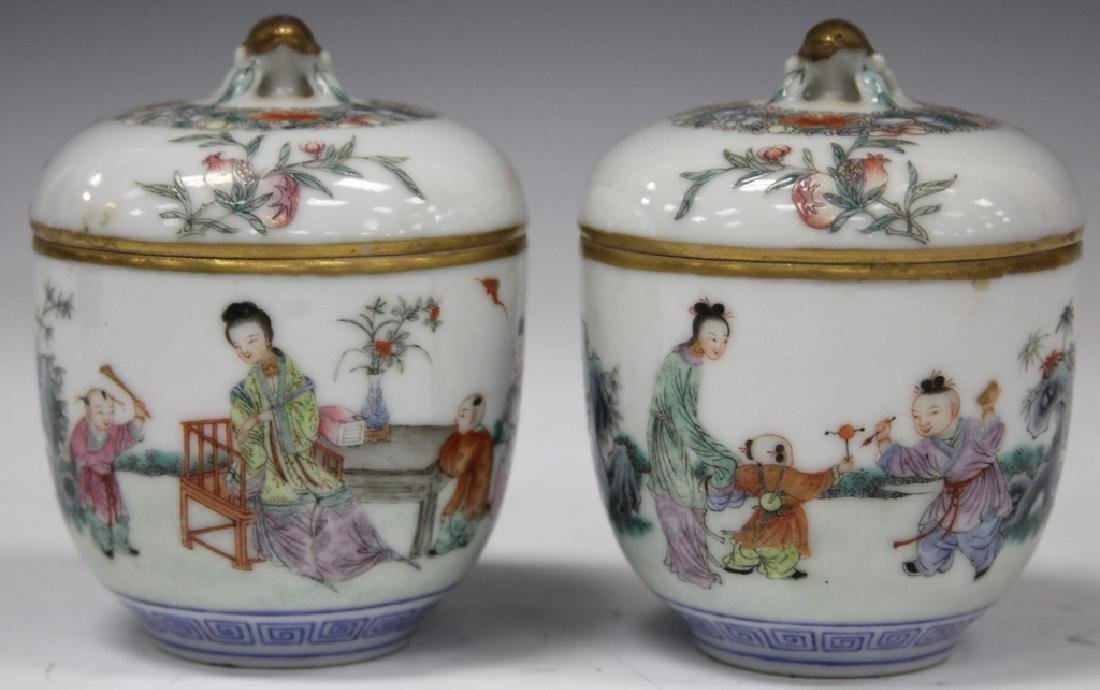 PAIR OF CHINESE REPUBLIC PERIOD PORCELAIN CUPS