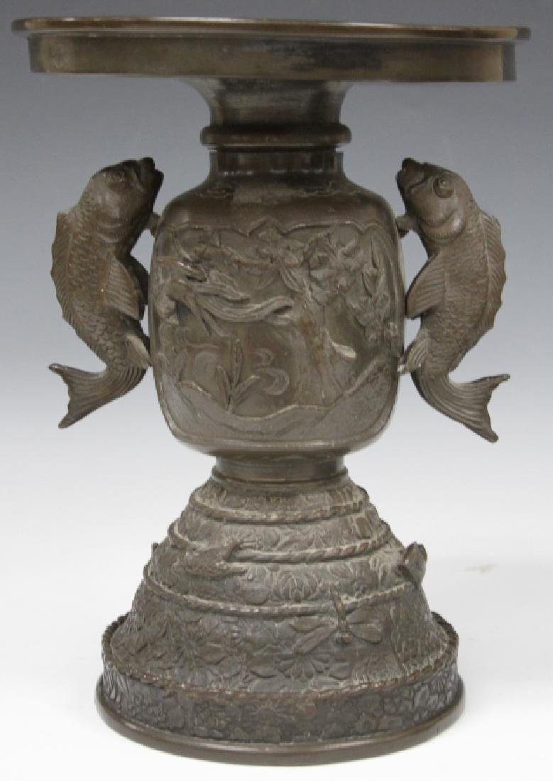 EARLY 19TH C. JAPANESE BRONZE CENSER