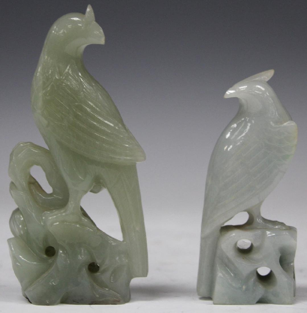 LOT OF (2) EARLY CHINESE JADE CARVINGS