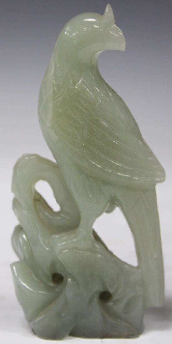 LOT OF (2) EARLY CHINESE JADE CARVINGS - 2