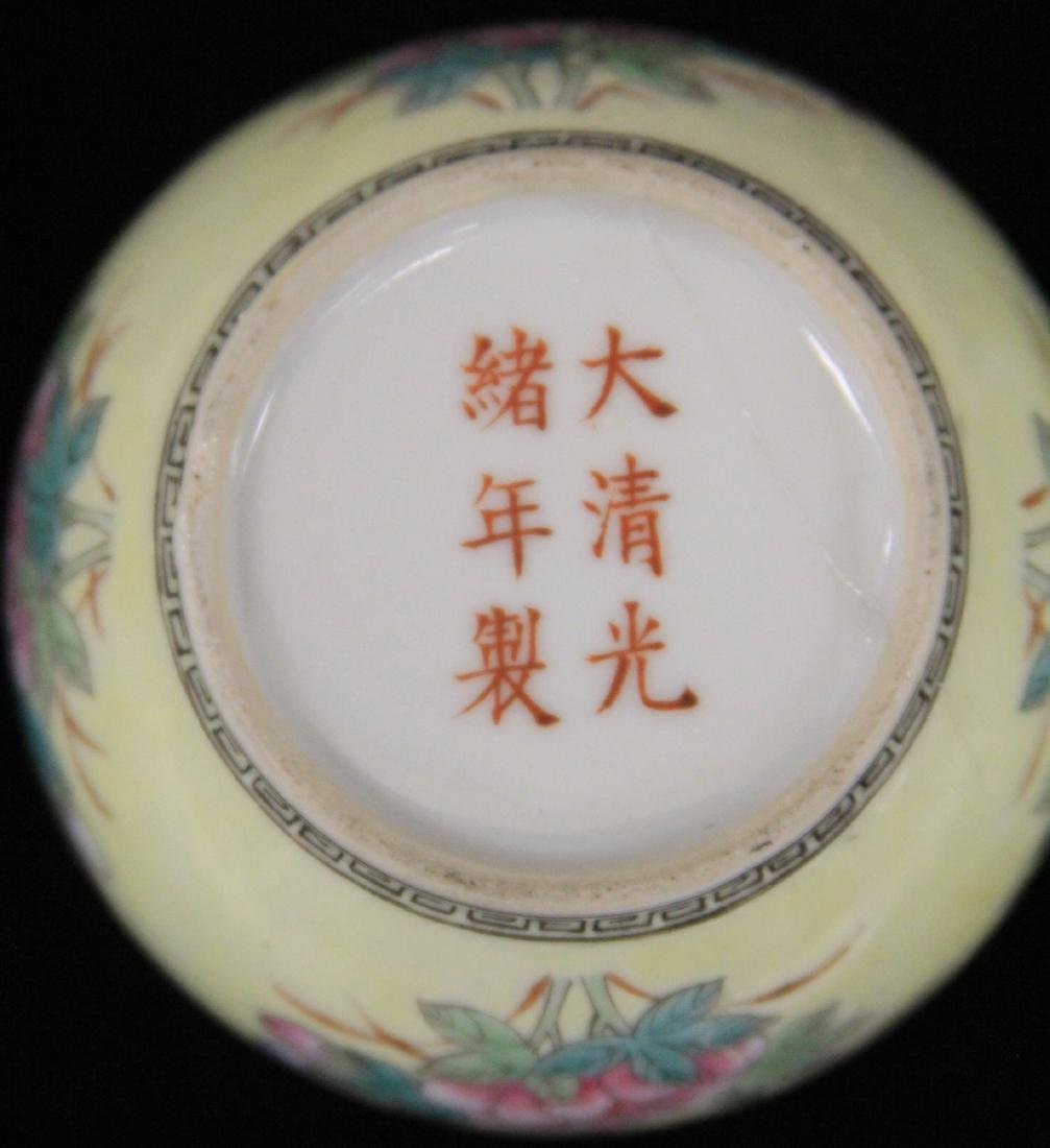 LOT OF (3) CHINESE PORCELAIN COVERED BOXES - 4