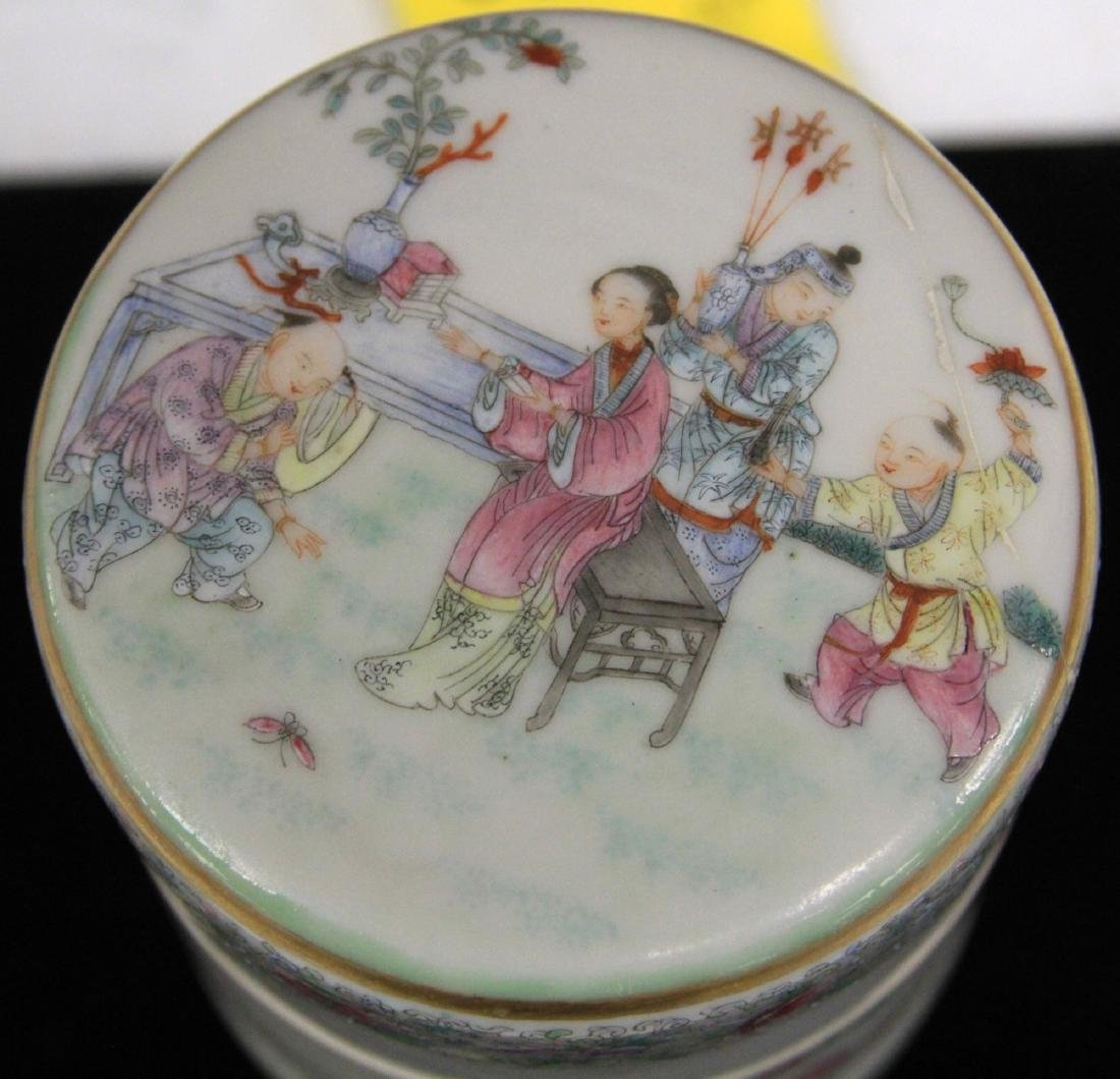 CHINESE REPUBLIC PERIOD PORCELAIN STACKING BOXES - 2