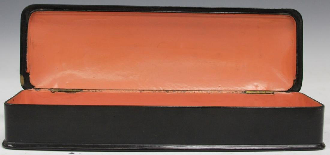 LOT OF (3) VINTAGE JAPANESE LACQUERED BOXES - 5
