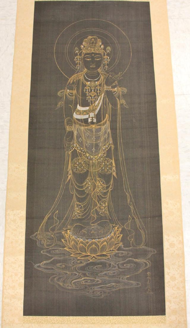 EARLY JAPANESE PAINTING OF QUAN YIN