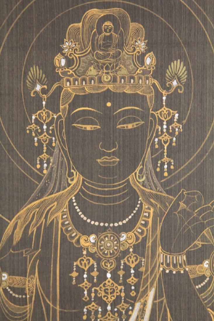 EARLY JAPANESE PAINTING OF QUAN YIN - 3