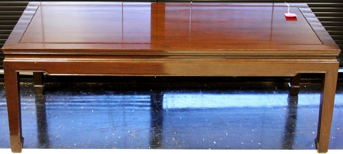 """VINTAGE CHINESE COFFEE TABLE, 22"""" X 48"""""""