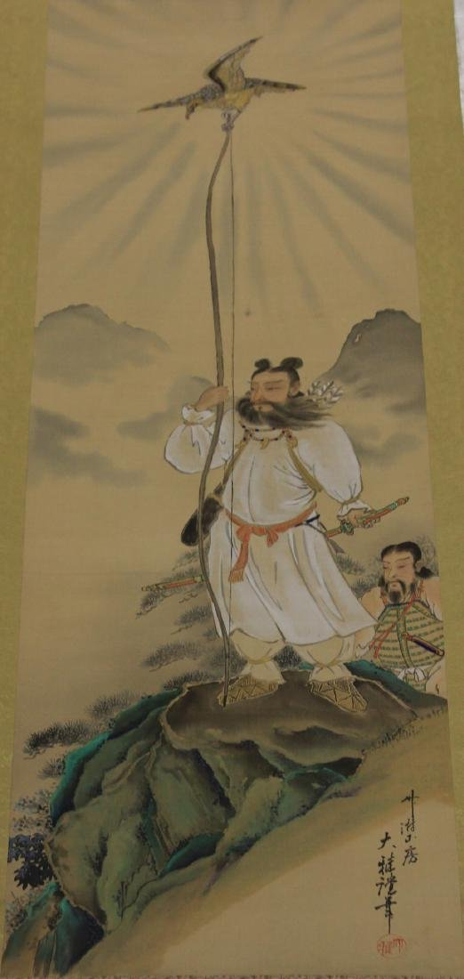 VINTAGE JAPANESE SCROLL PAINTING - 2