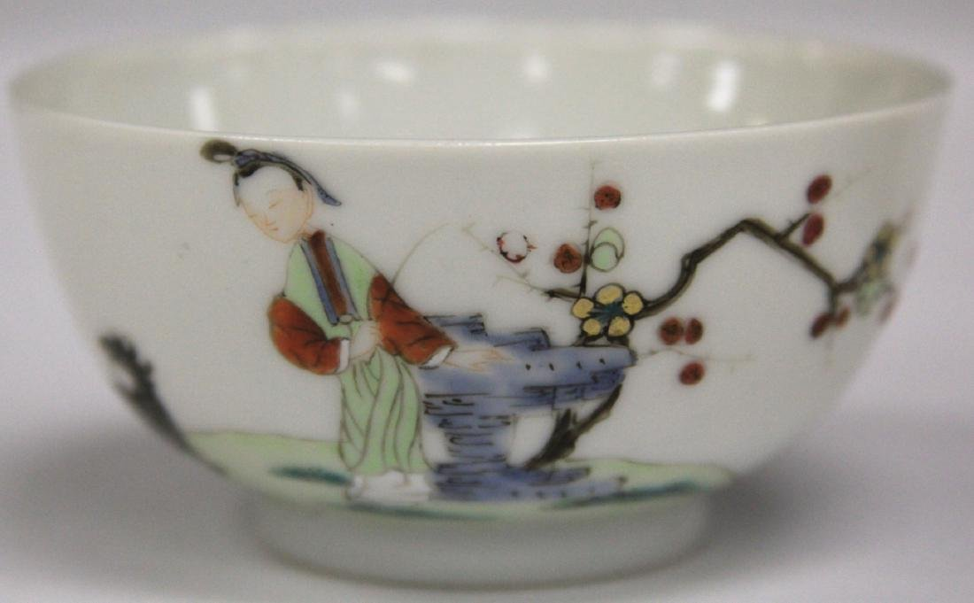 PAIR OF 19TH C. CHINESE PORCELAIN CUPS/SAUCERS - 9