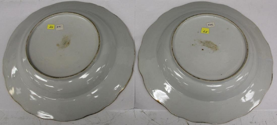 PAIR OF 18TH C. PORCELAIN EXPORT PLATES - 7