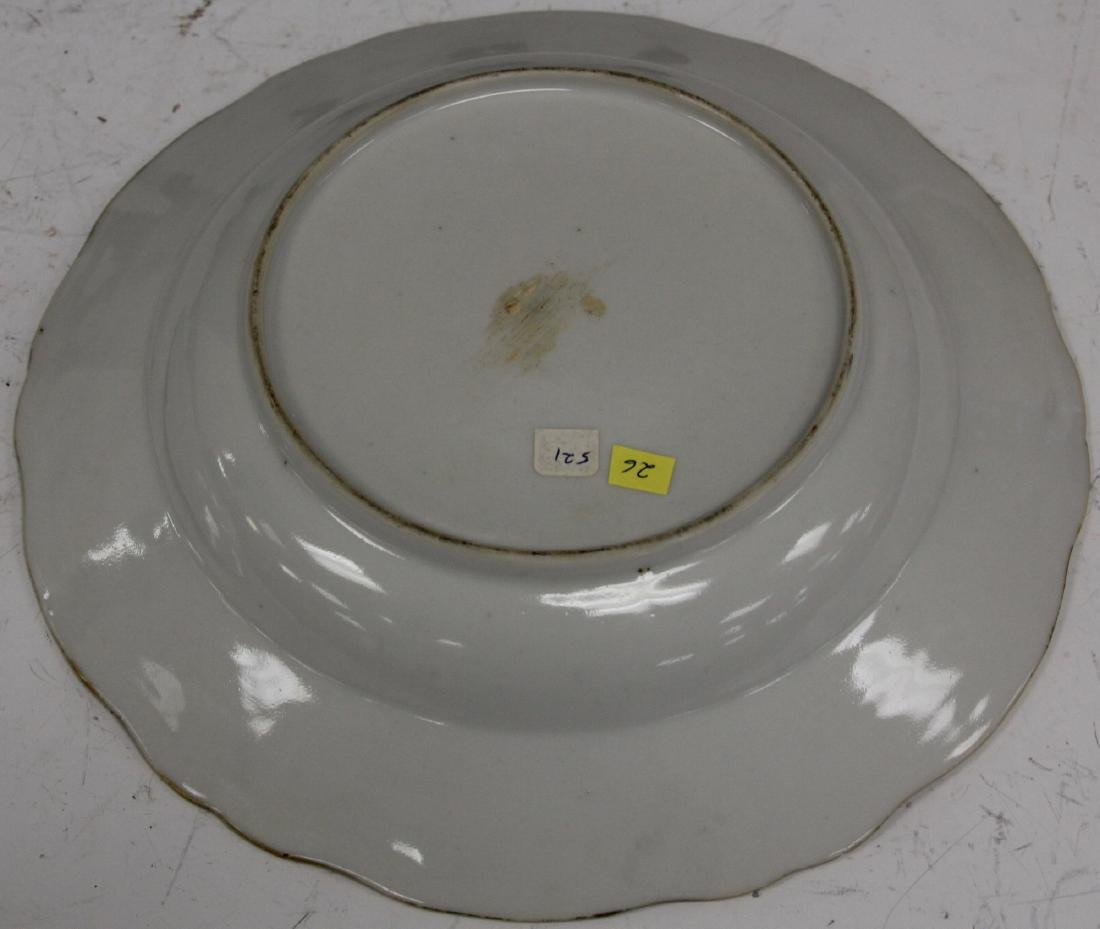PAIR OF 18TH C. PORCELAIN EXPORT PLATES - 9