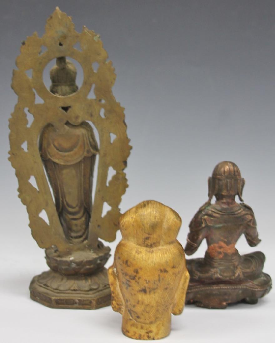 LOT OF (3) CHINESE DECORATIVE: QUAN YIN & BUDDHA - 5