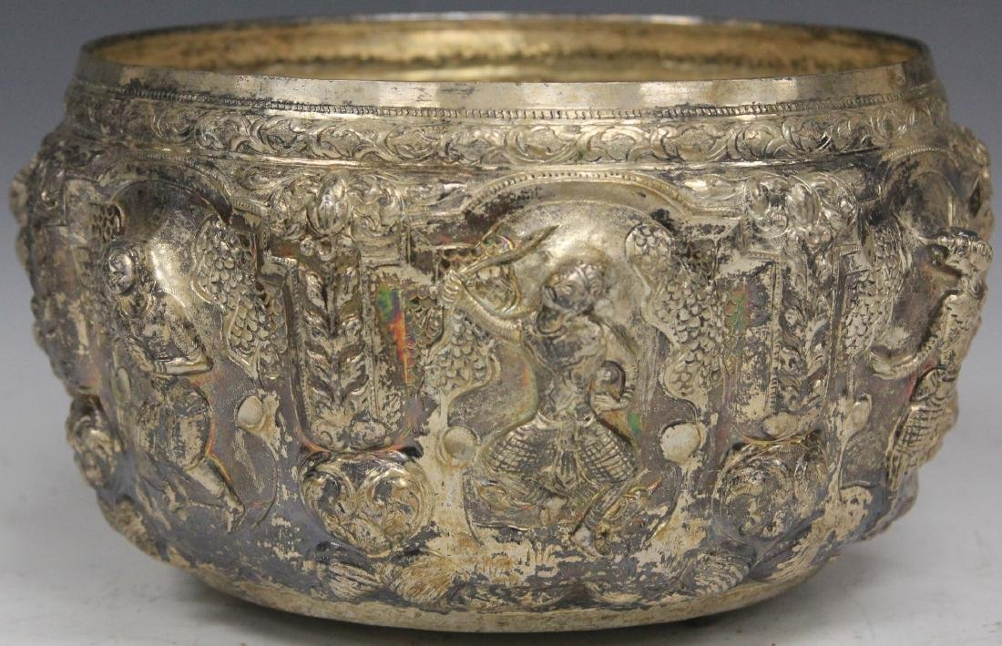 THAI SILVER PRESENTATION BOWL, 35 TROY OZ.