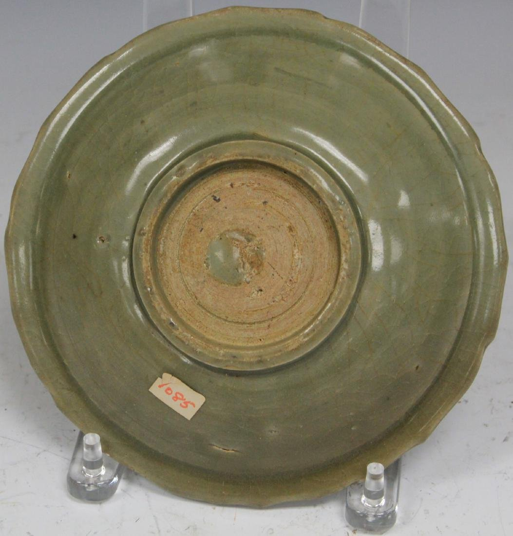 18TH C. CHINESE CELADON PLATE - 2