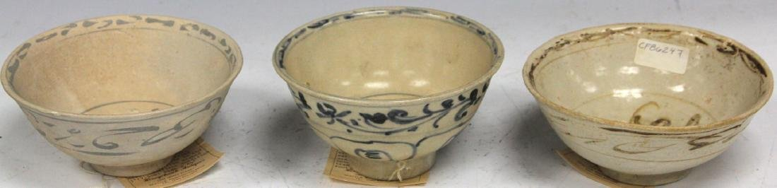 LOT OF (3) ANNAMESE BOWLS