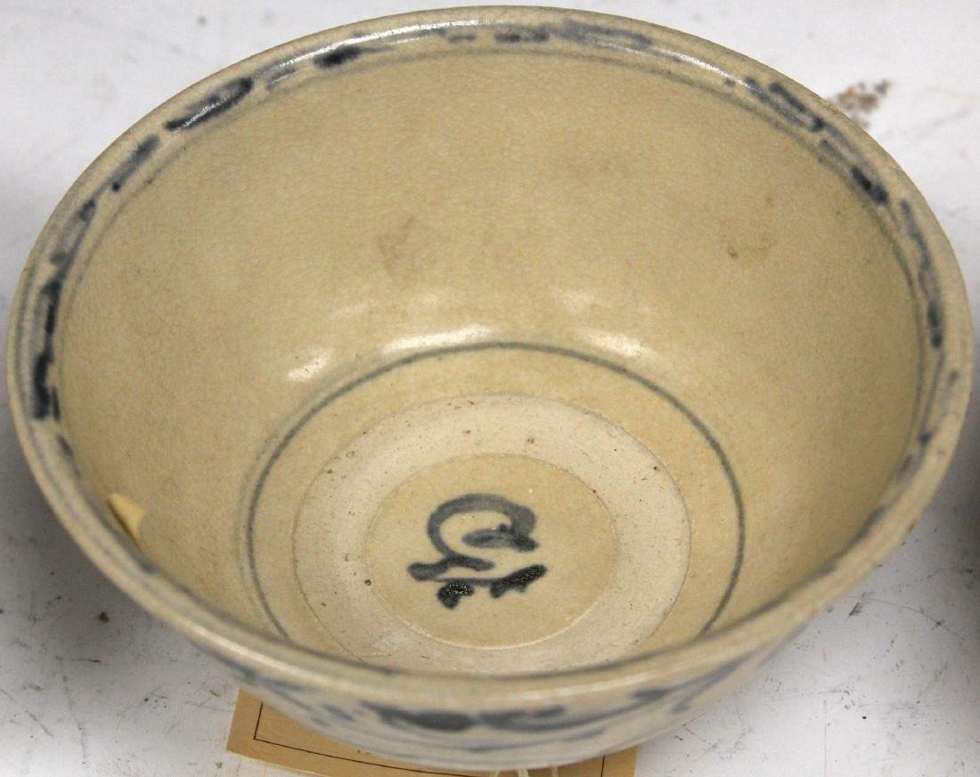 LOT OF (3) ANNAMESE BOWLS - 3