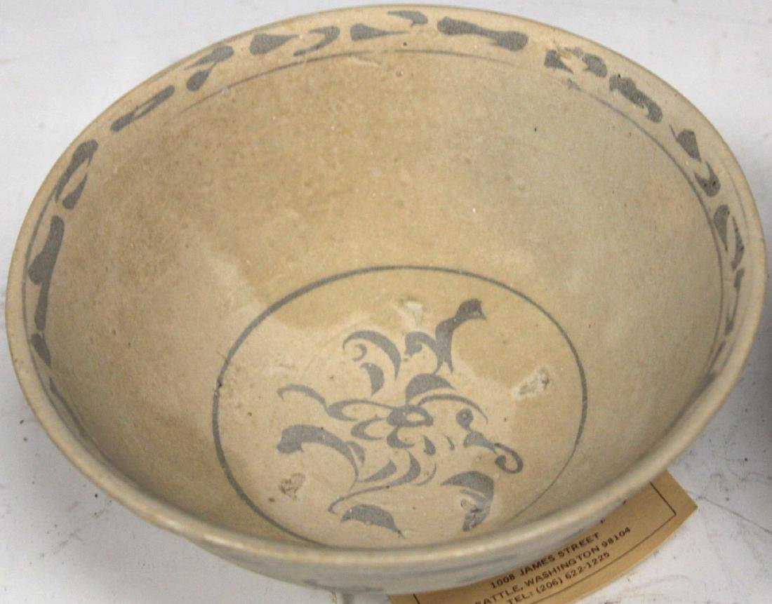 LOT OF (3) ANNAMESE BOWLS - 4