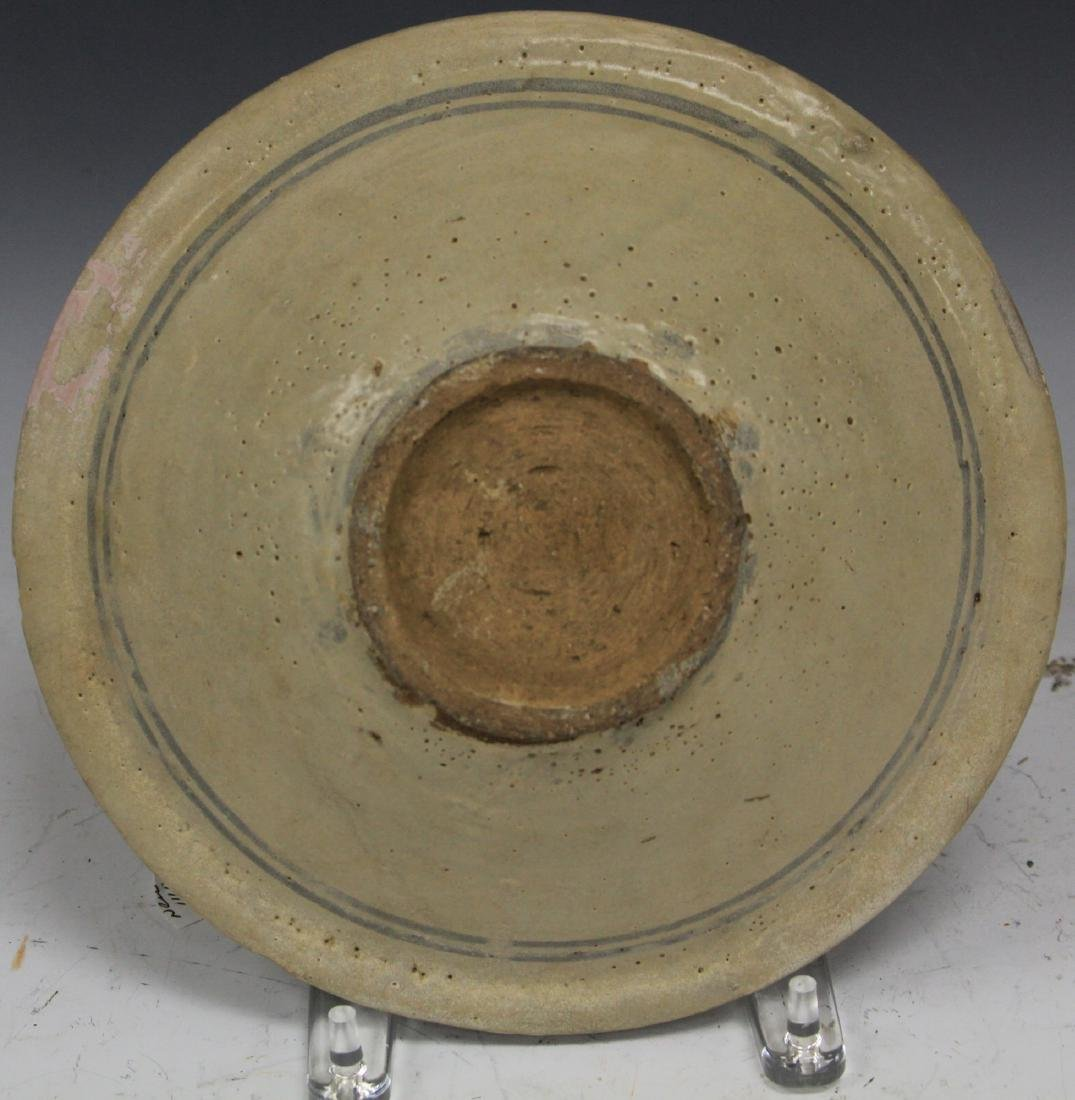 "ANNAMESE POTTERY BOWL, 10"" D - 2"
