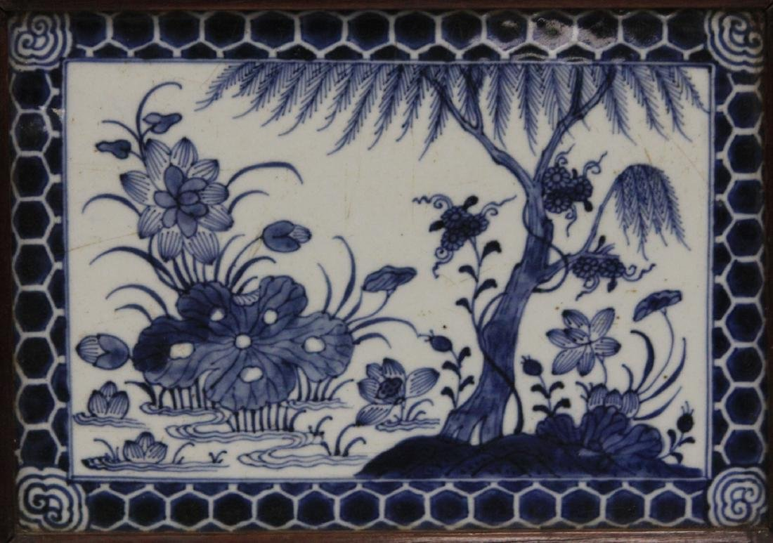 PAIR OF CHINESE PORCELAIN PLAQUES - 3