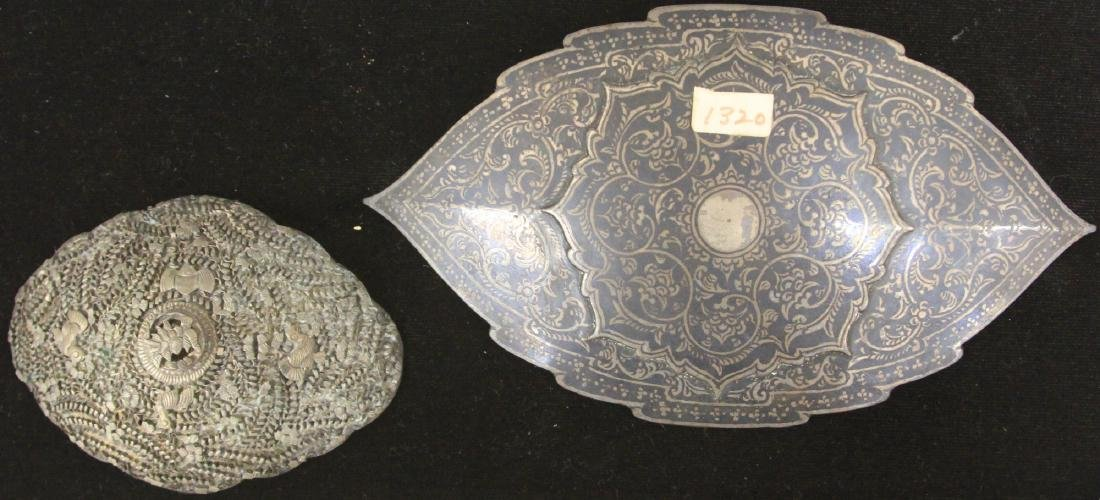 LOT OF (2) CAMBODIAN & THAI BUCKLES