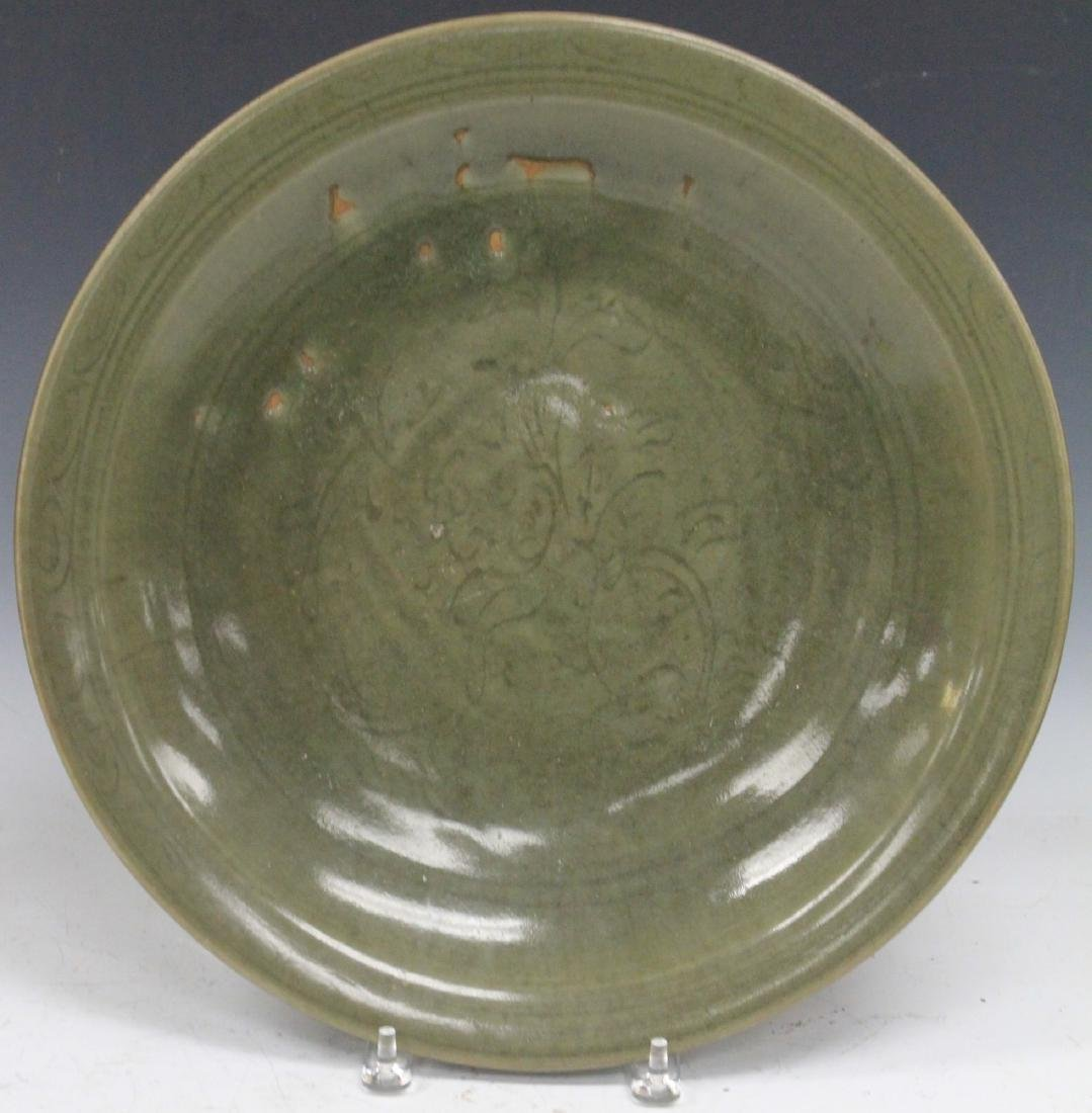 EARLY KOREAN CELADON CHARGER