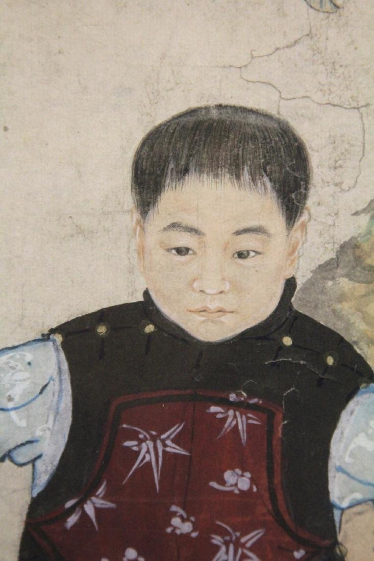 QING DYNASTY FRAMED PAINTING - 3