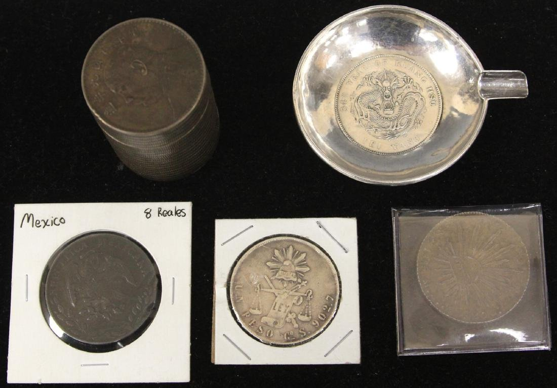 LOT OF (5) VINTAGE COINS