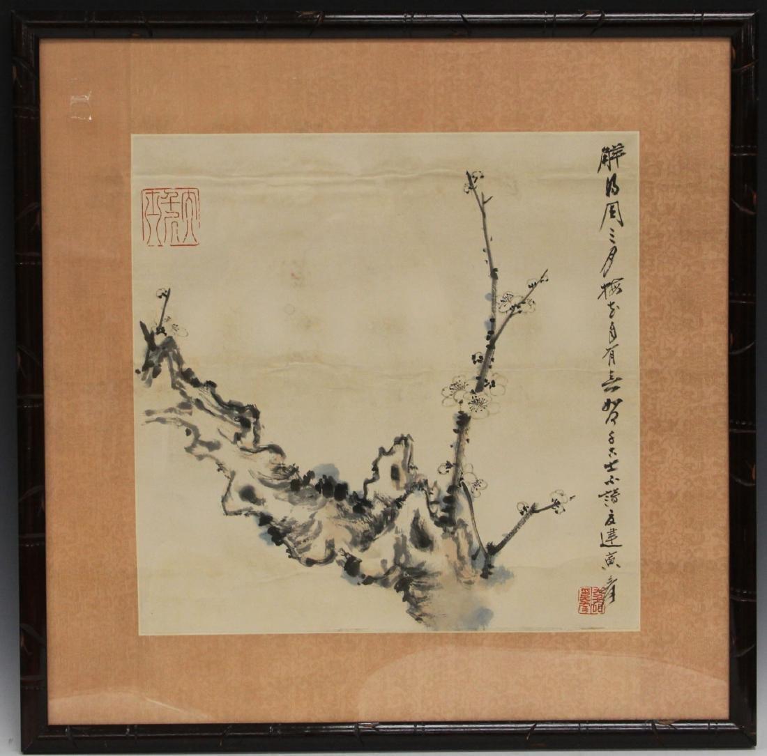DAQIAN ZHANG (1899-1983), WATERCOLOR PAINTING