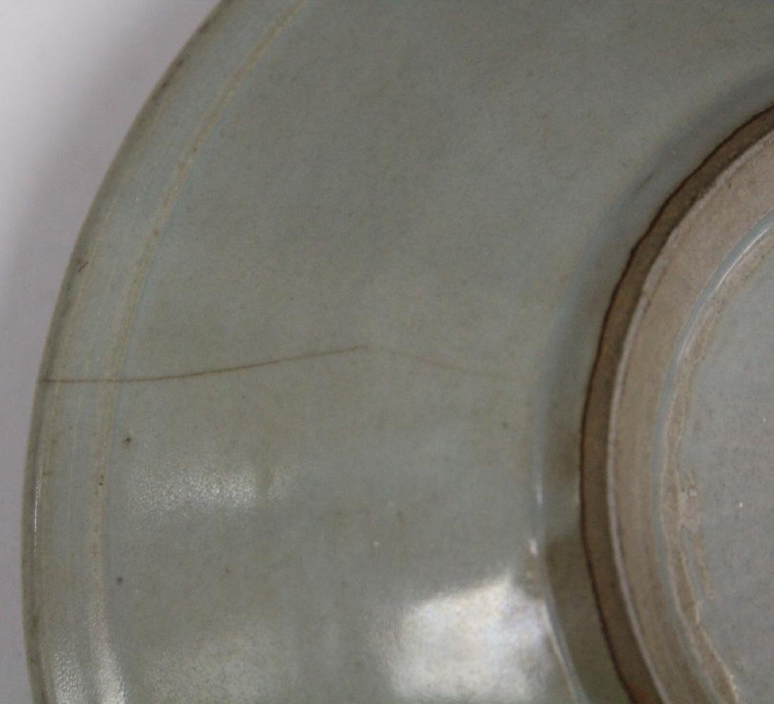 CHINESE CELADON BOWL WITH STAND - 3