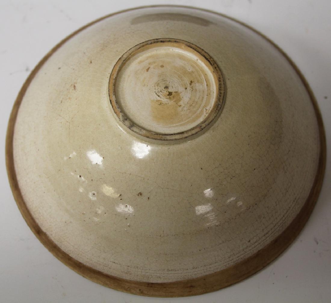 12TH C. CHINESE WHITE DINGYAO STYLE GLAZED BOWL - 2