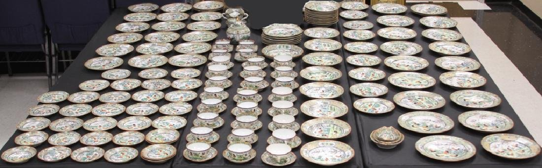 (150+) PC. CHINESE PORCELAIN DINNERWARE SET