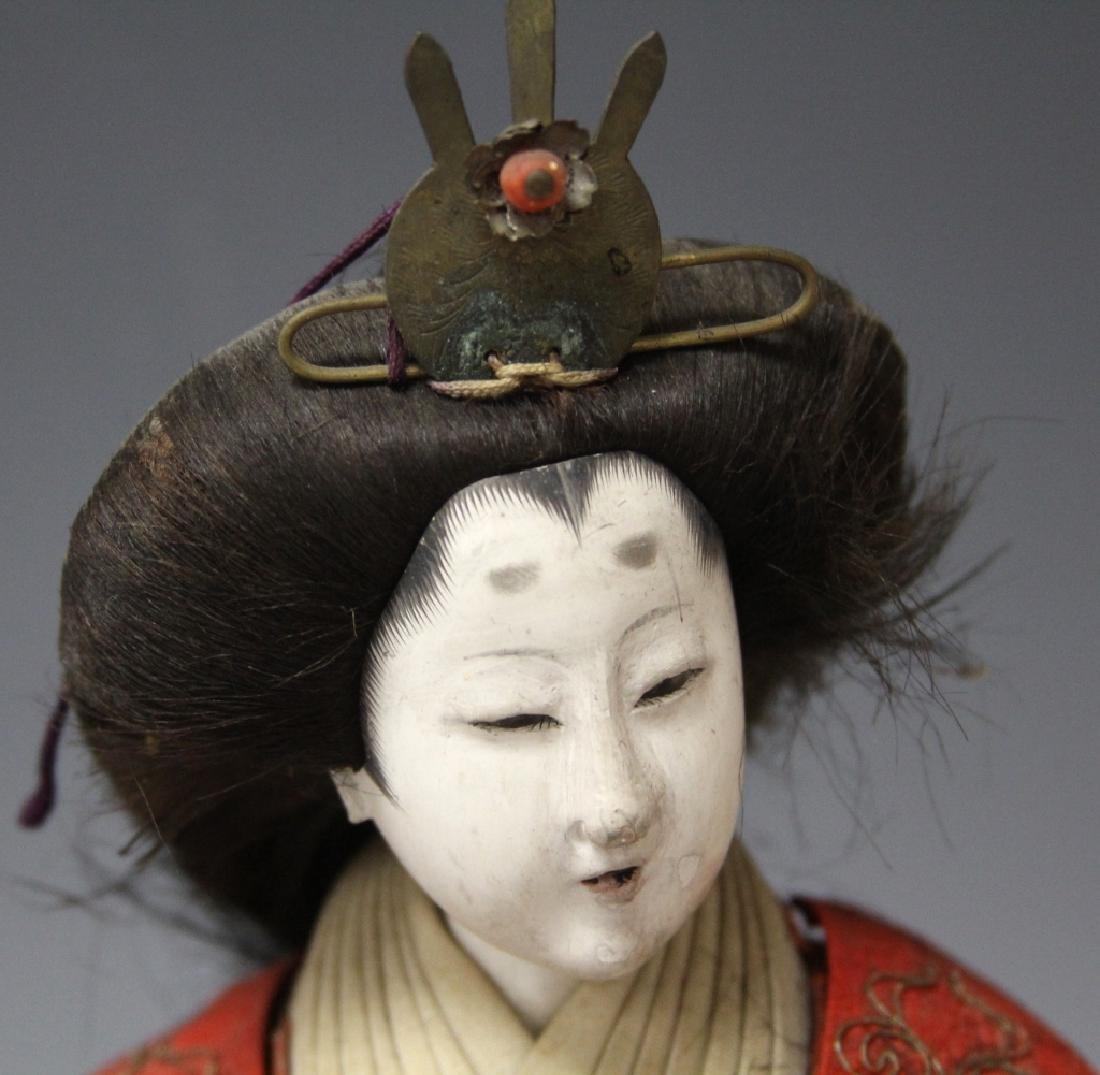 LOT OF (4) VINTAGE JAPANESE NOH DOLLS - 2