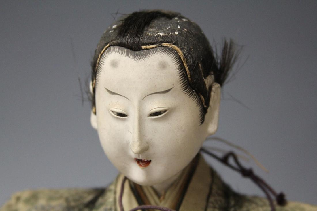LOT OF (4) VINTAGE JAPANESE NOH DOLLS - 3