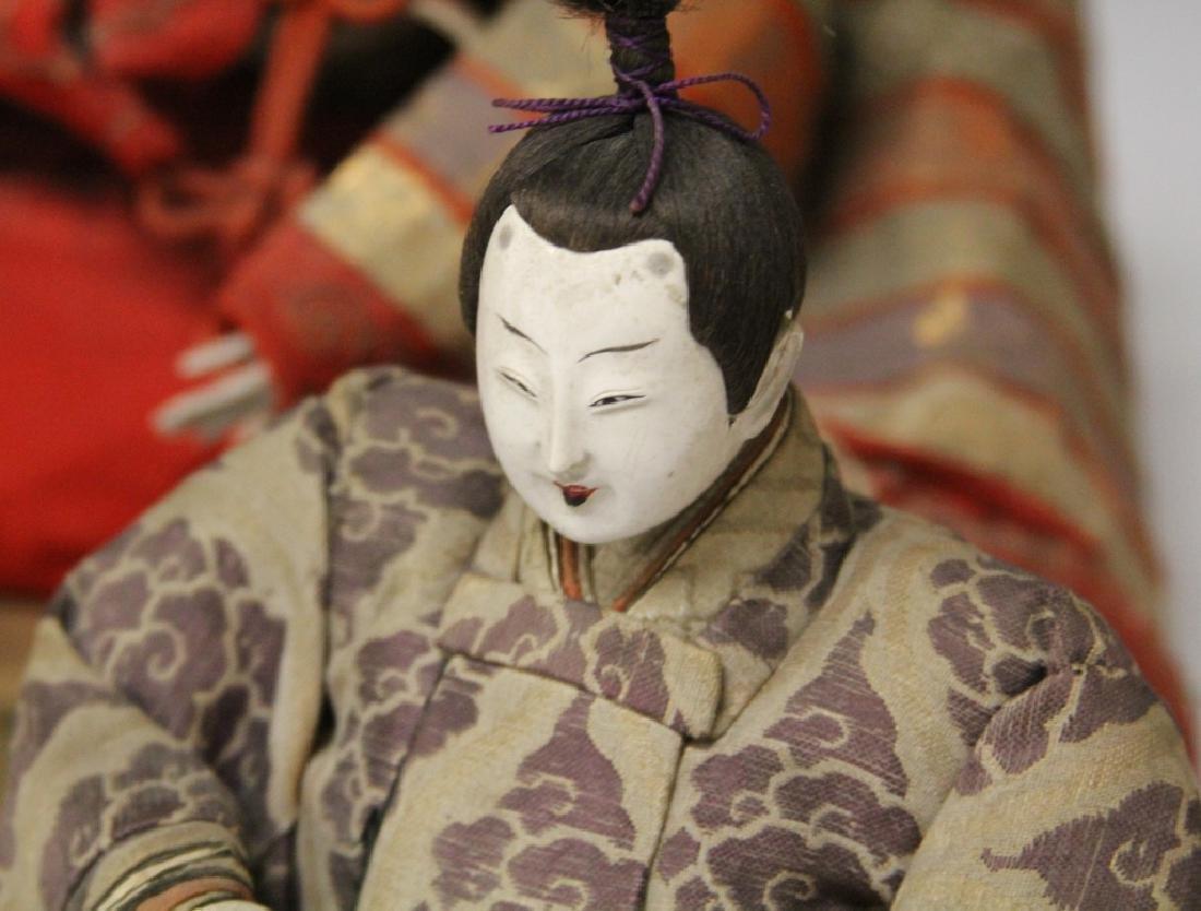 LOT OF (4) VINTAGE JAPANESE NOH DOLLS - 4