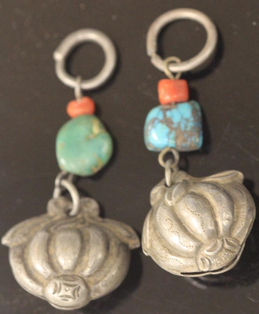 LOT OF (15) CHINESE SILVER FIGURAL PENDANTS - 4