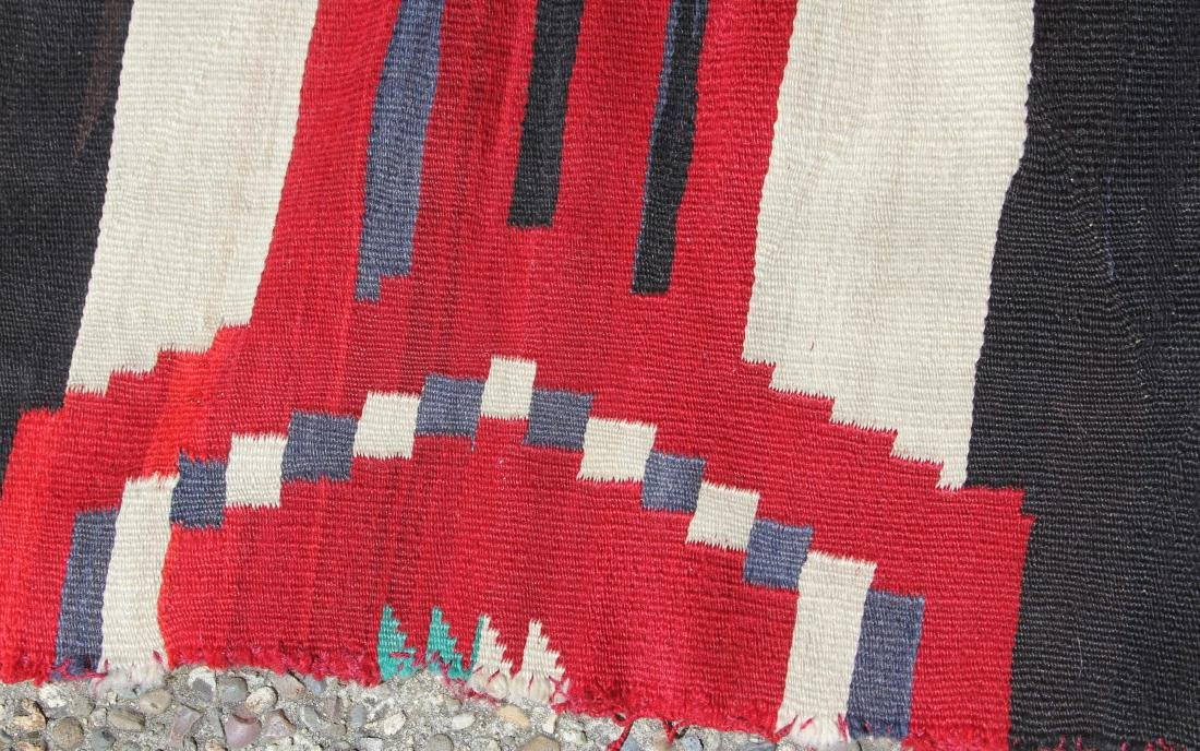 NATIVE AMERICAN 3RD PHASE CHIEFS BLANKET, 19TH C. - 2