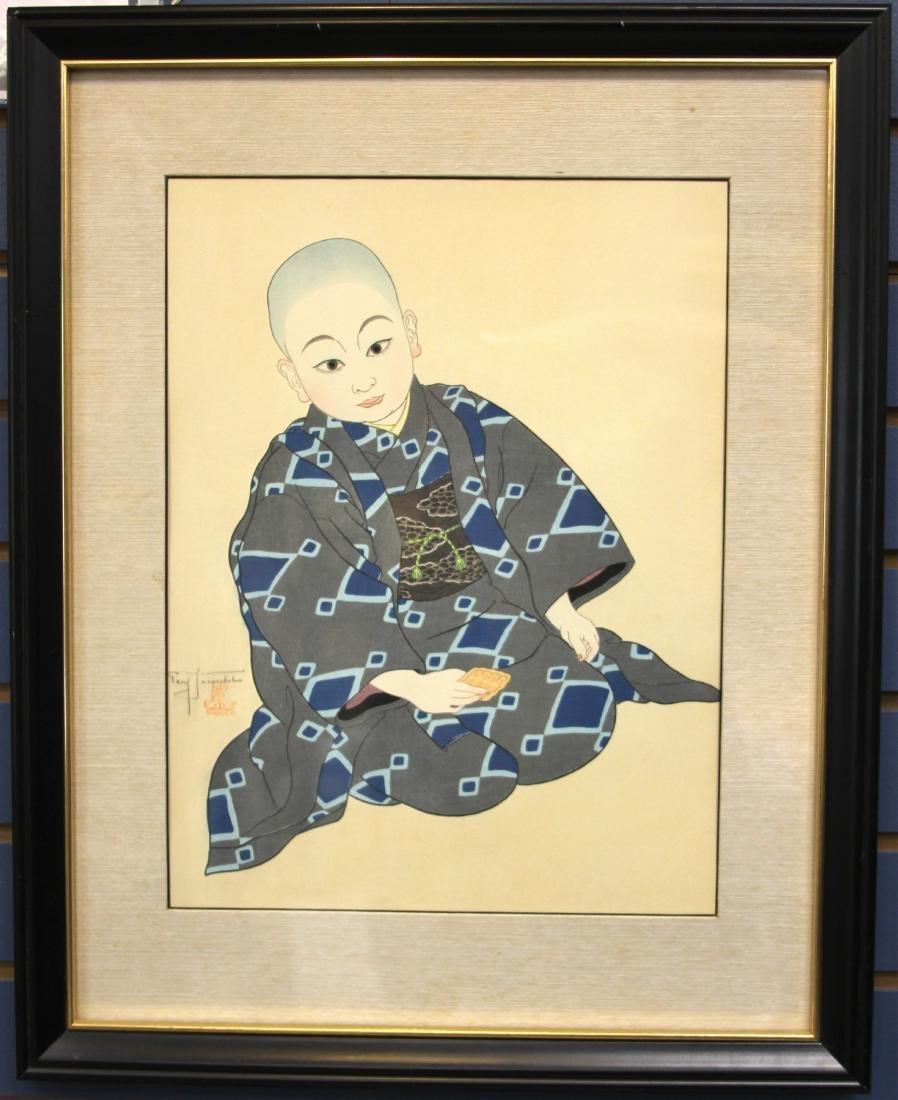 PAUL JACOULET (1896-1960), PORTRAIT: KIYOSHI TOKYO