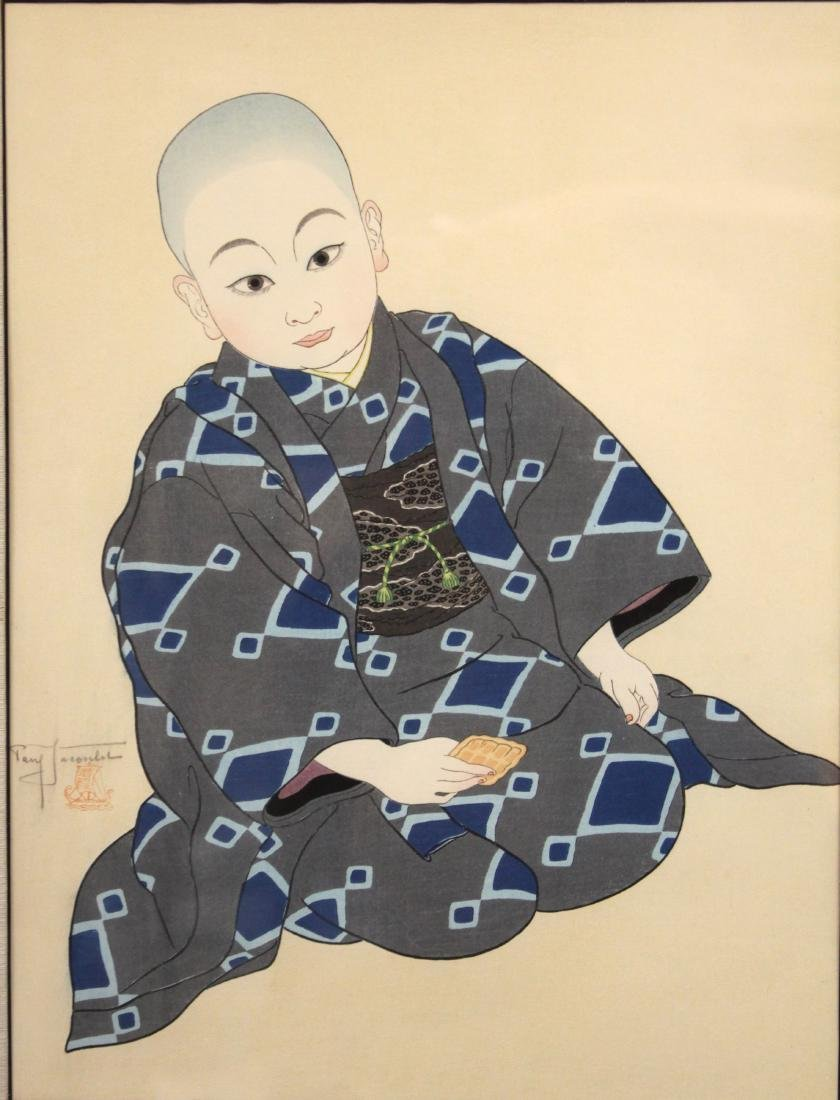 PAUL JACOULET (1896-1960), PORTRAIT: KIYOSHI TOKYO - 2