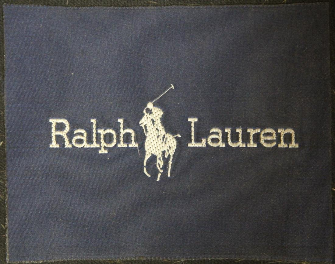 RALPH LAUREN LEATHER CLUB CHAIR - 2