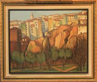 BENJAMIN PALENCIA PEREZ (1894-1980), OIL ON CANVAS