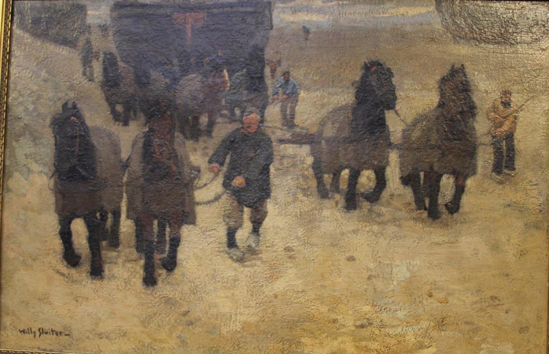 WILLY SLUITER (1873-1949),  OIL ON CANVAS - 2