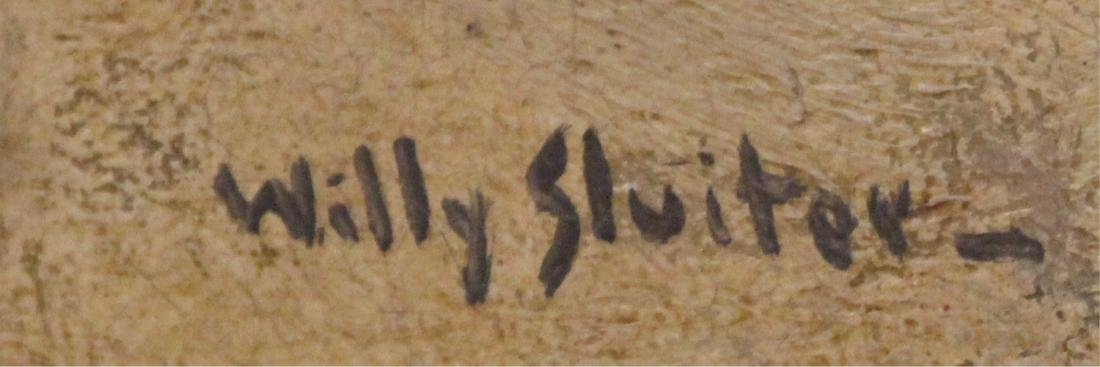 WILLY SLUITER (1873-1949),  OIL ON CANVAS - 3