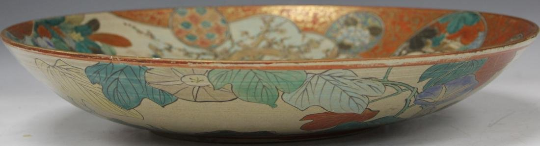 19TH C. JAPANESE SATSUMA PAINTED CHARGER - 2