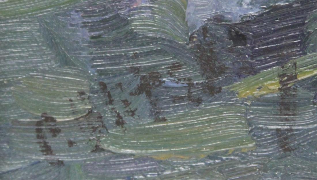 OLEG ULITSKY, OIL  ON CANVAS, FRAMED - 3